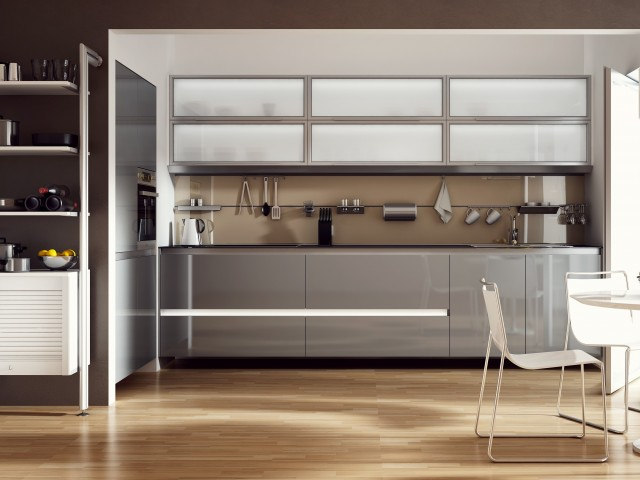 kuchnia i szafki bezuchwytowe